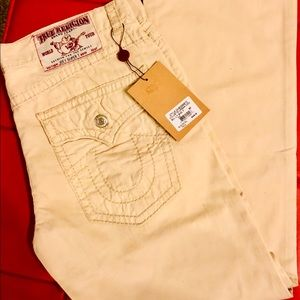 True religion NWT khaki denim